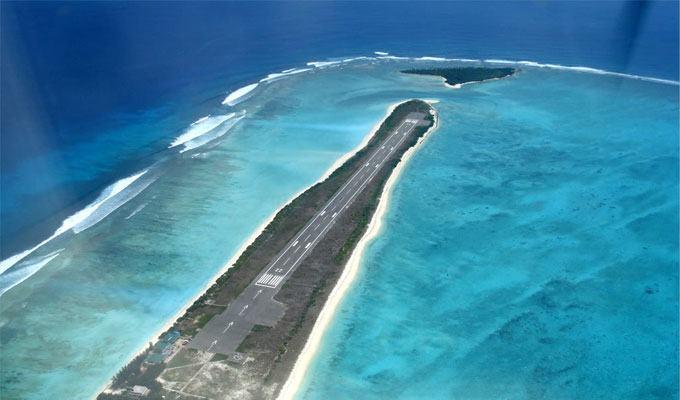 Aeroporto Agatti Runway, Ilha de Agatti