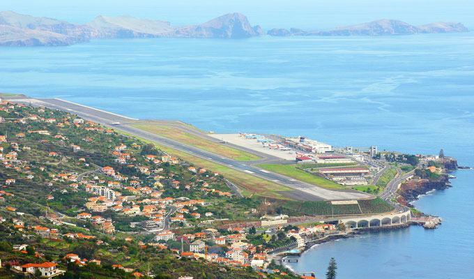 Aeroporto Funchal, Ilha da Madeira