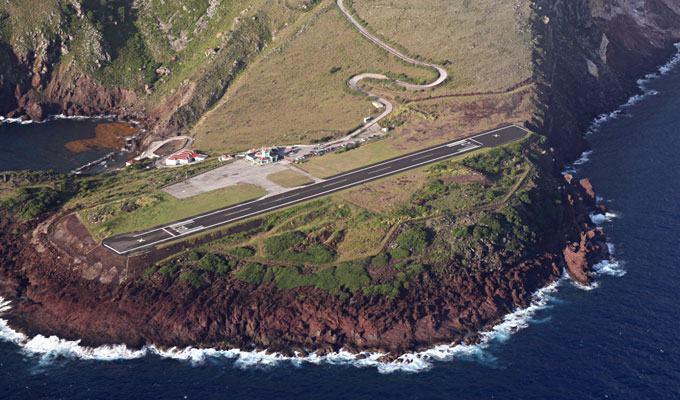 Aeroporto Juancho E. Yrasusquin, Ilha de Saba, Caribe