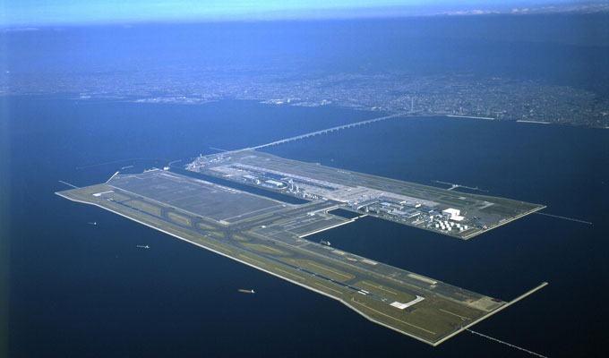 Aeroporto Kansai, Japão