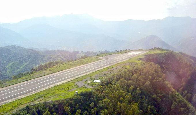 Aeroporto Shimla, India