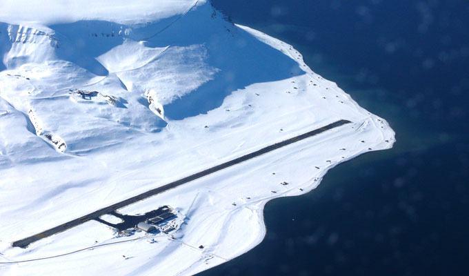 Aeroporto Svalbard, Noruega