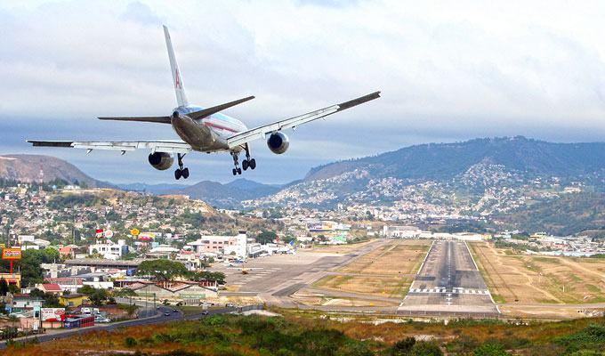 Aeroporto Toncontin, Honduras