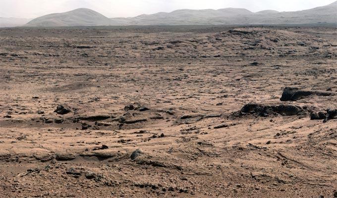 Curiosity: fotos do planeta Marte