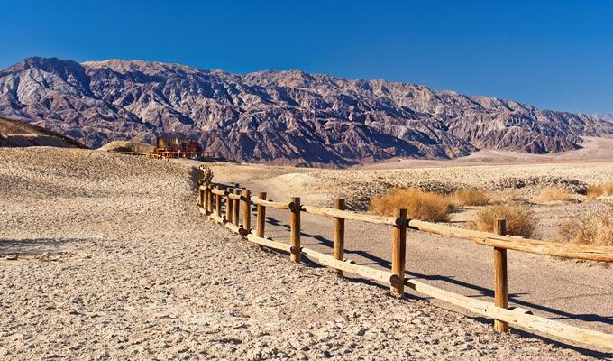 Lugar mais quente do mundo: Vale da Morte, California, EUA