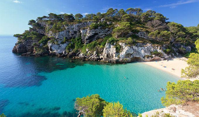 Praia mais bonita do mundo: Macarelleta, Ilha de Minorca, Espanha