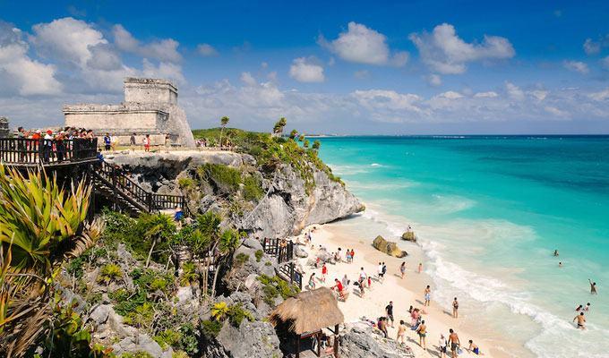 Praia mais bonita do mundo: Tulum, México