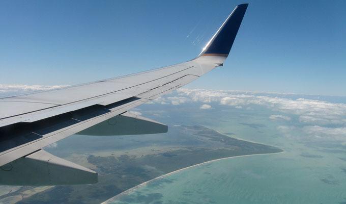 Vista aérea de Cancun