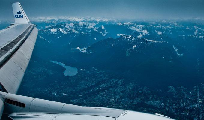 Vista aérea de Vancouver
