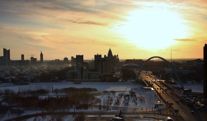 Cidade mais fria do mundo: Astana, Cazaquistão