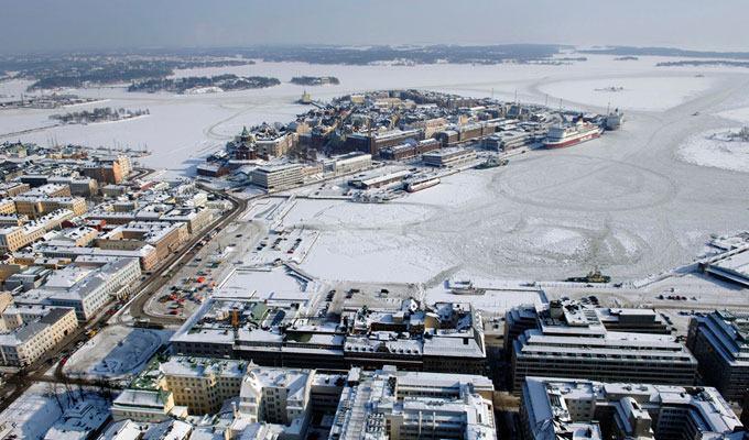 Cidade mais fria do mundo: Helsinque, Finlândia