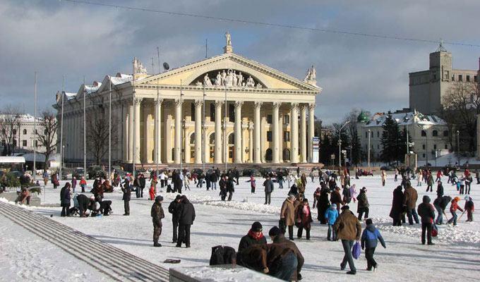 Cidade mais fria do mundo: Minsk, Bielorrússia