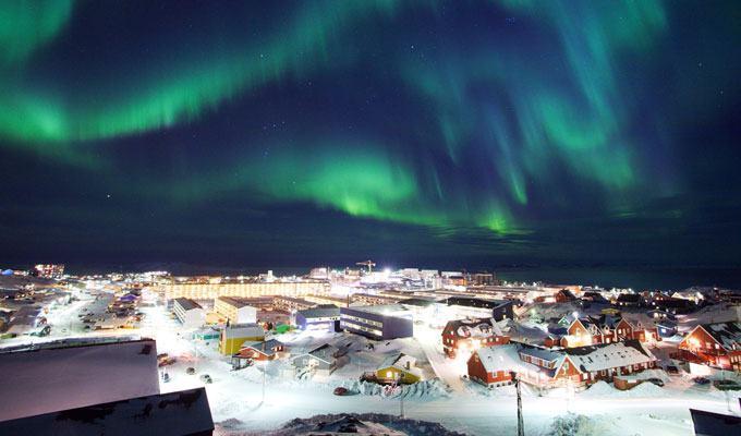 Cidade mais fria do mundo: Nuuk, Groenlândia