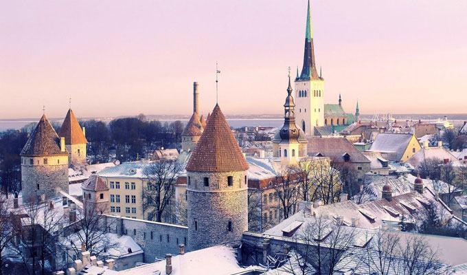 Cidade mais fria do mundo: Tallinn, Estônia