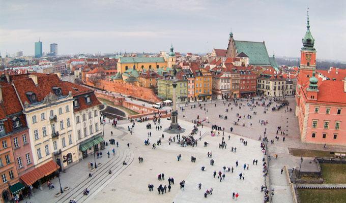 Cidade mais fria do mundo: Varsóvia, Polônia