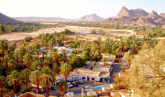 Cidade mais quente do mundo: Illizi, Argélia