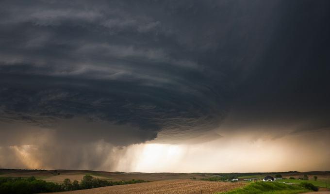 Fotos de grandes tempestades ameaçadoras
