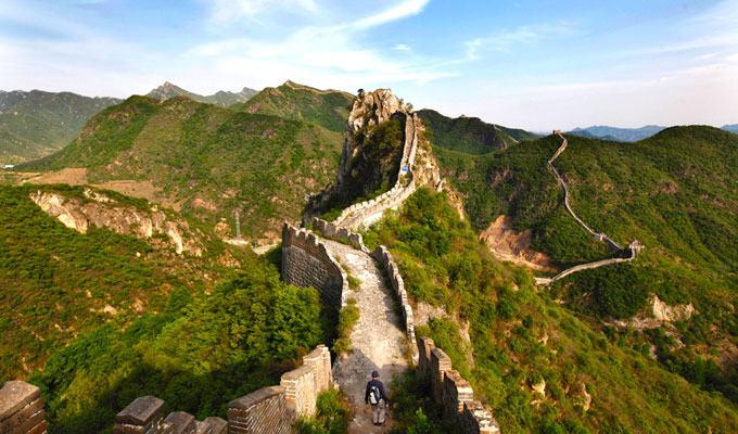 Fotos da Muralha da China: uma das 7 maravilhas do mundo